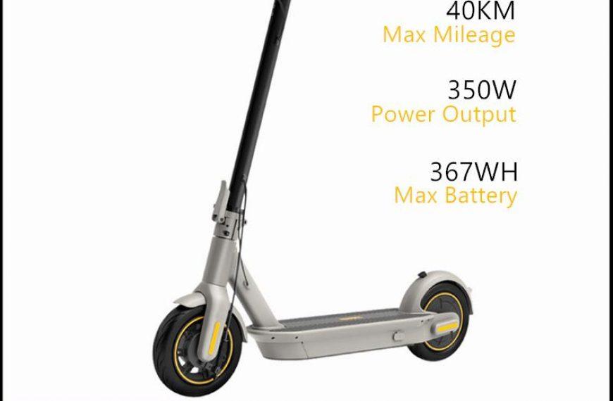 Geriausia Ninebot Max G30LP kaina